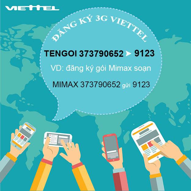 Cách đăng ký 3G Viettel giá rẻ, có ngay 600MB – 3GB Data tốc độ cao