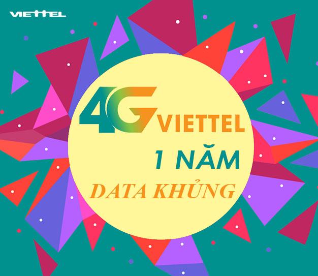 Hướng dẫn đăng ký 4G Viettel 1 năm dùng trọn gói tặng thêm 4GB/tháng