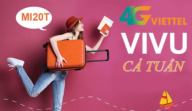 Cách đăng ký 4G Viettel 1 tuần có ngay 600MB giá siêu rẻ chỉ 20.000đ