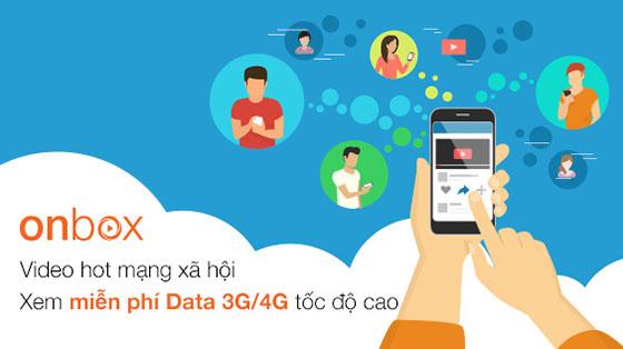 Đăng ký dịch vụ onbox Viettel thỏa sức xem Video miễn phí Data