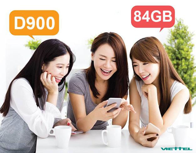 Cách đăng ký gói D900 Viettel cho thuê bao Dcom 4G miễn phí 84GB