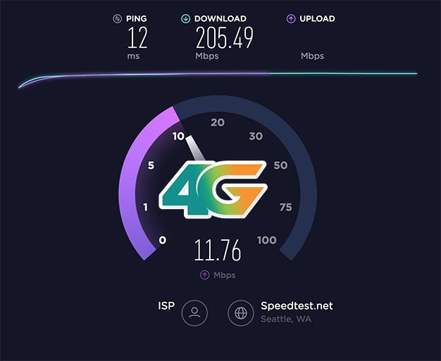 Hướng dẫn kiểm tra tốc độ 4G Viettel trong 30s bằng Speedtest