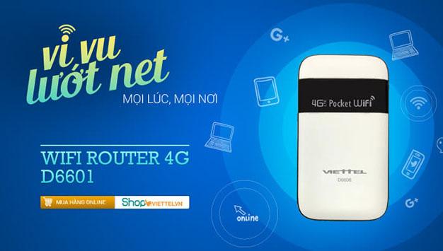 Thiết bị Router Wifi 4G Viettel