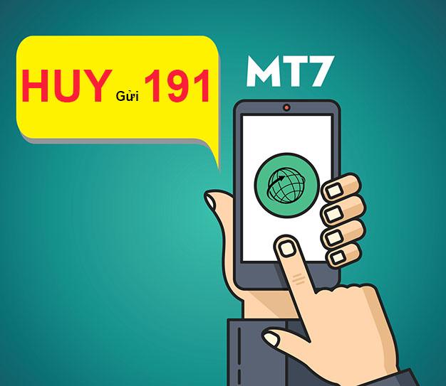Hướng dẫn cách hủy gói MT7 Viettel siêu nhanh không tốn phí