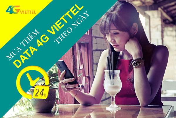 Tổng hợp các gói mua thêm dung lượng 4G Viettel theo ngày - giờ