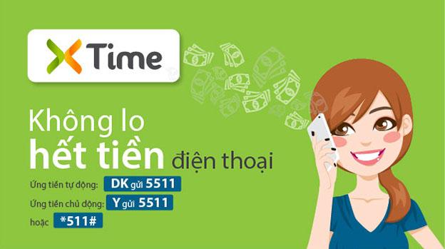 ỨNG TIỀN THÔNG MINH XTIME VIETTEL QUA 5511