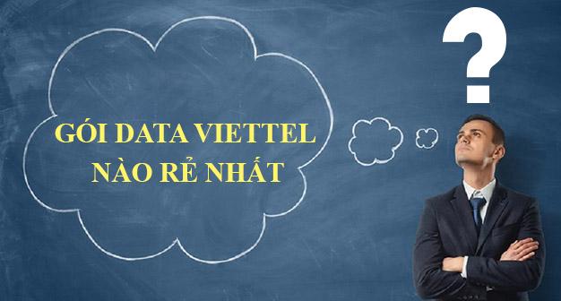 Gói 3G rẻ nhất của Viettel có giá bao nhiêu?
