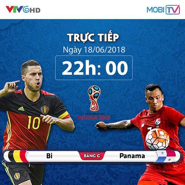 Trực tiếp World Cup 2018 có tại MobiTV Viettel không tốn Data 4G
