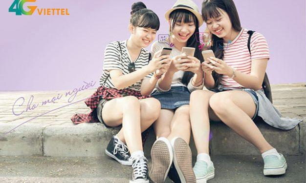 Cách đăng ký 4G Viettel sinh viên 1 ngày
