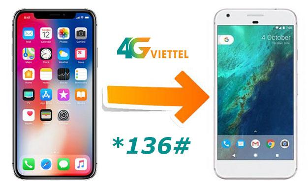 Cách bắn Data Viettel – Chuyển dung lượng 3G/4G sang thuê bao khác