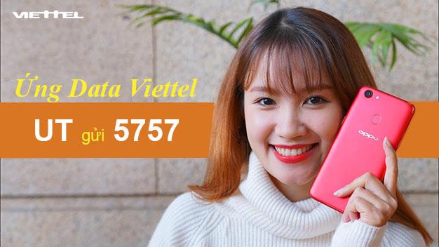 Hướng dẫn cách ứng Data Viettel dễ dàng có ngay 50MB - 1.2GB