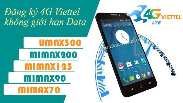 Đăng ký 4G Viettel không giới hạn dung lượng miễn phí đến 30GB Data