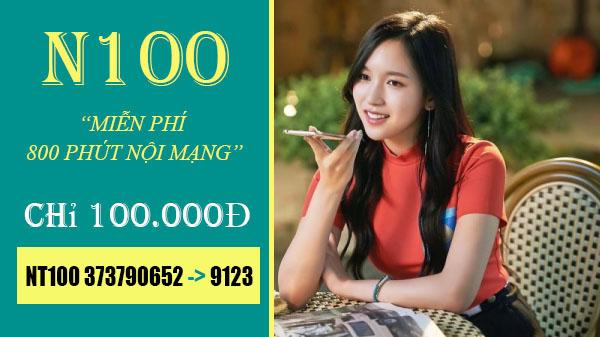 Cách đăng ký 800 phút gọi Viettel chỉ 100.000đ/tháng - N100 Viettel