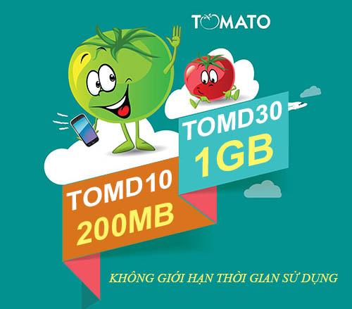 Mua Data không lo hết hạn cùng gói TOMD30 và TOMD10 Viettel