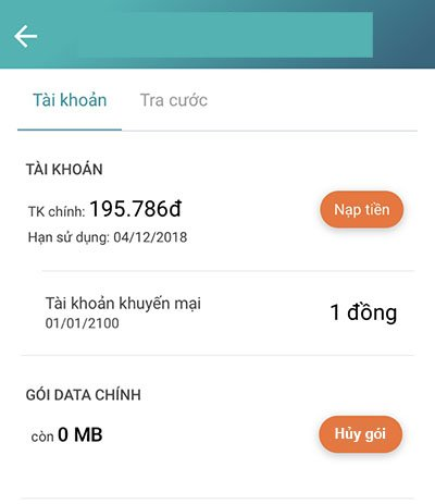 Cách hủy 3G Viettel bằng My Viettel