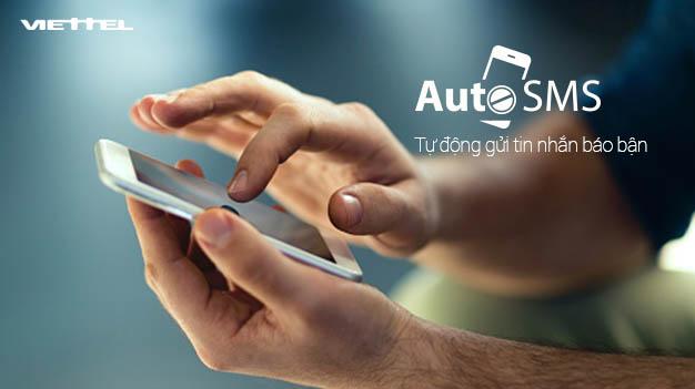 Cách đăng ký từ chối cuộc gọi đến bằng tin nhắn, dịch vụ AutoSMS Viettel