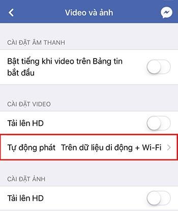 Cách tùy chỉnh ứng dụng Facebook giúp tiết kiệm dung lượng Data 3G/4G Viettel