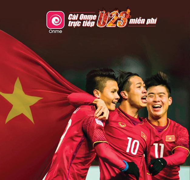Xem trực tiếp Asiad các trận đấu của U23 Việt Nam miễn phí trên Onme