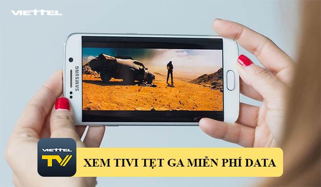 Viettel TV – Ứng dụng xem Tivi trên điện thoại miễn phí Data 3G/4G
