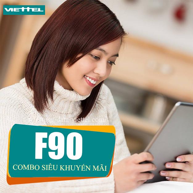 Gói combo F90 Viettel siêu ưu đãi không thể bỏ qua