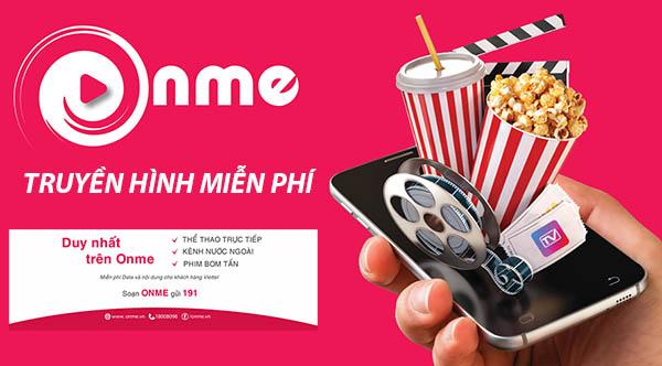 Onme Viettel - Ứng dụng xem truyền hình miễn phí Data 3G/4G
