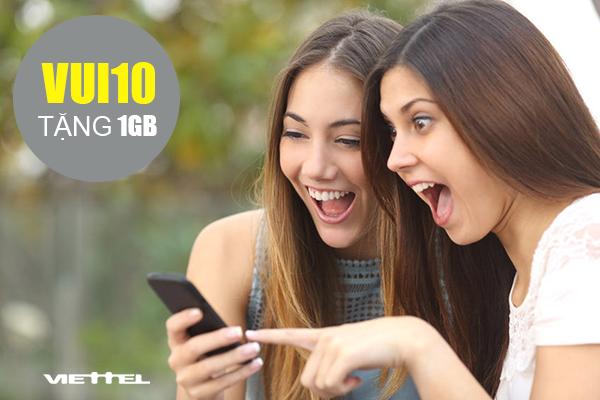 Tặng 1GB cho thuê bao Viettel khác để cùng kết nối 3G/4G