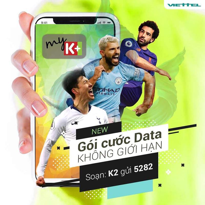 Xem K+ chất lượng HD trên di động KHÔNG GIỚI HẠN lưu lượng 3G/4G