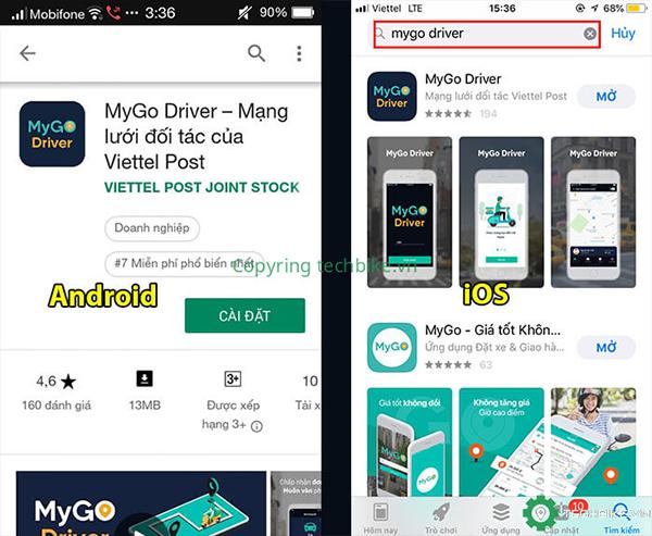 Tải ứng dụng MyGo