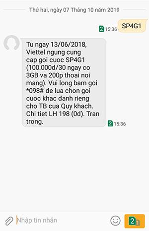 ngưng cung cấp gói cước Super từ ngày 13/06/2018