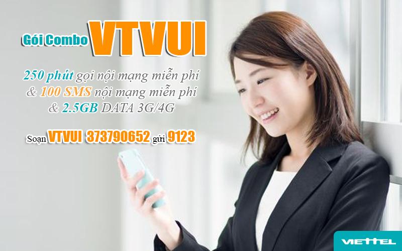 Đăng ký gói VTVUI Viettel để nhận các ưu đãi khủng