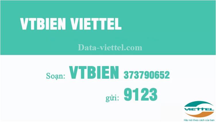 Đăng ký ngay VTBIEN VIETTEL nhận ưu đãi khủng