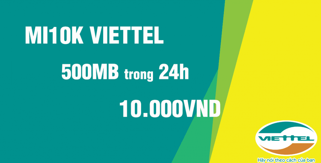 Đăng ký MI10K Viettel, thoải mái Data không ngại giá