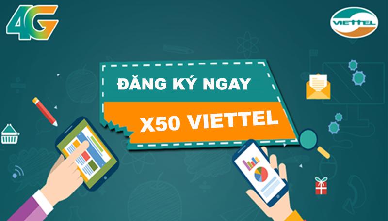 Sử dụng X50 Viettel, lướt web thả ga không lo về giá