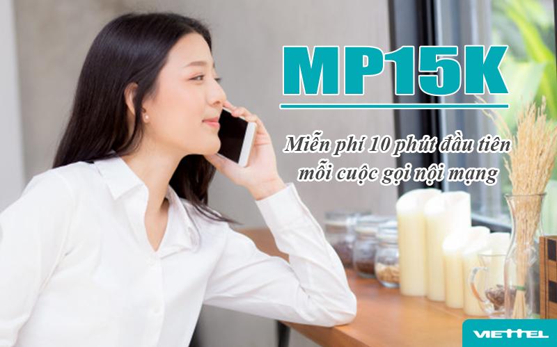 Đăng ký MP15K Viettel gọi thả ga trong 3 ngày chỉ 15k