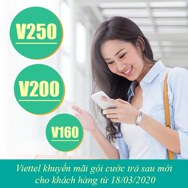 Viettel khuyến mãi gói cước trả sau mới cho khách hàng từ 18/03/2020