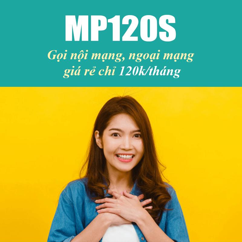 Gói MP120S Viettel miễn phí 700 phút nội mạng + 50 Phút ngoại mạng