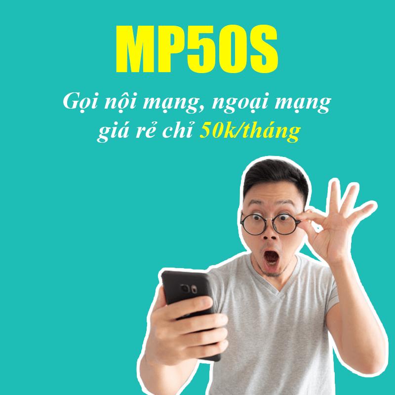 Gói MP50S Viettel Miễn Phí 400 Phút Nội Mạng + 20 Phút Ngoại Mạng