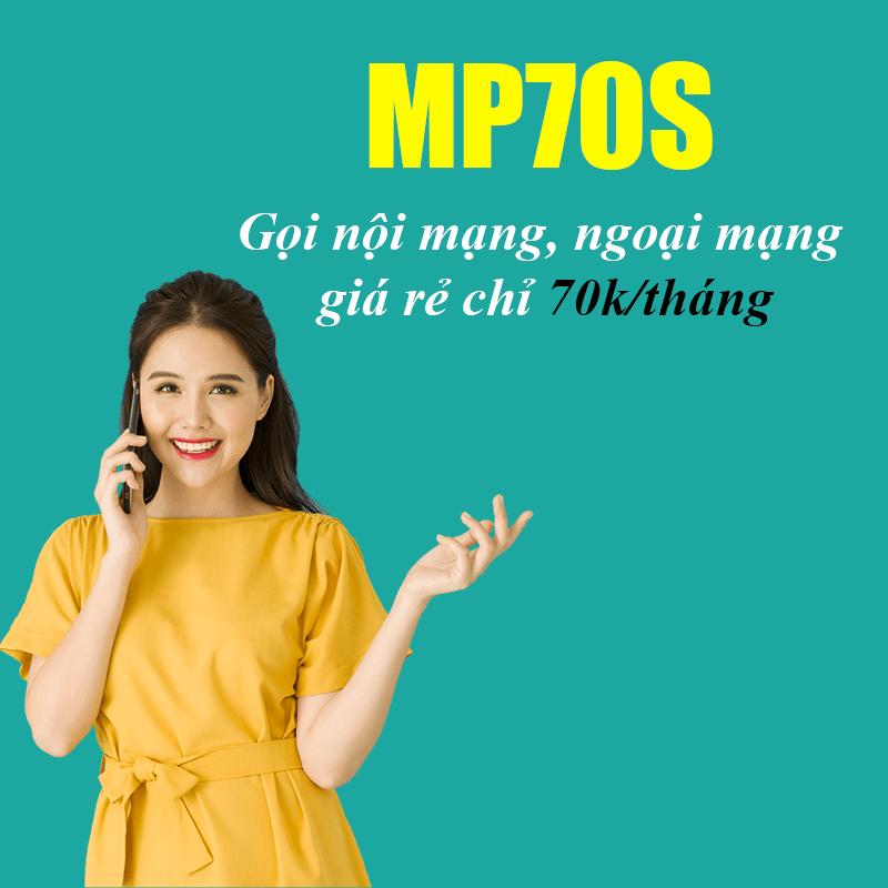 Gói MP70S Viettel Miễn Phí 500 Phút Nội Mạng + 30 Phút Ngoại Mạng