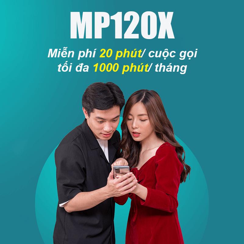 Gói MP120X Viettel giá 120.000đ, miễn phí gọi nội mạng dưới 20 phút
