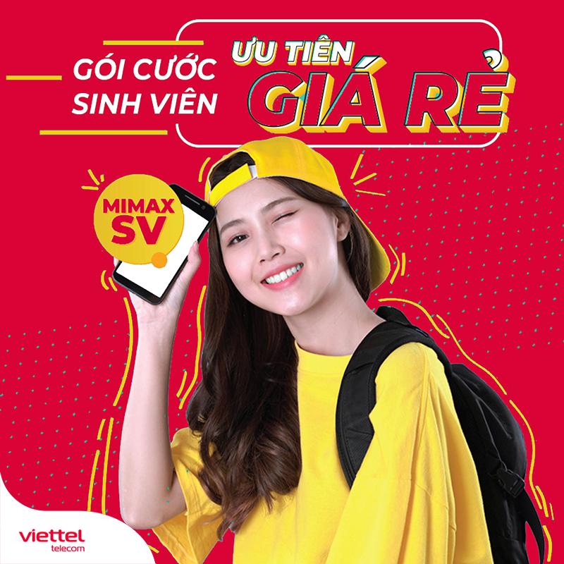 Các gói cước 4G Viettel sinh viên mới nhất
