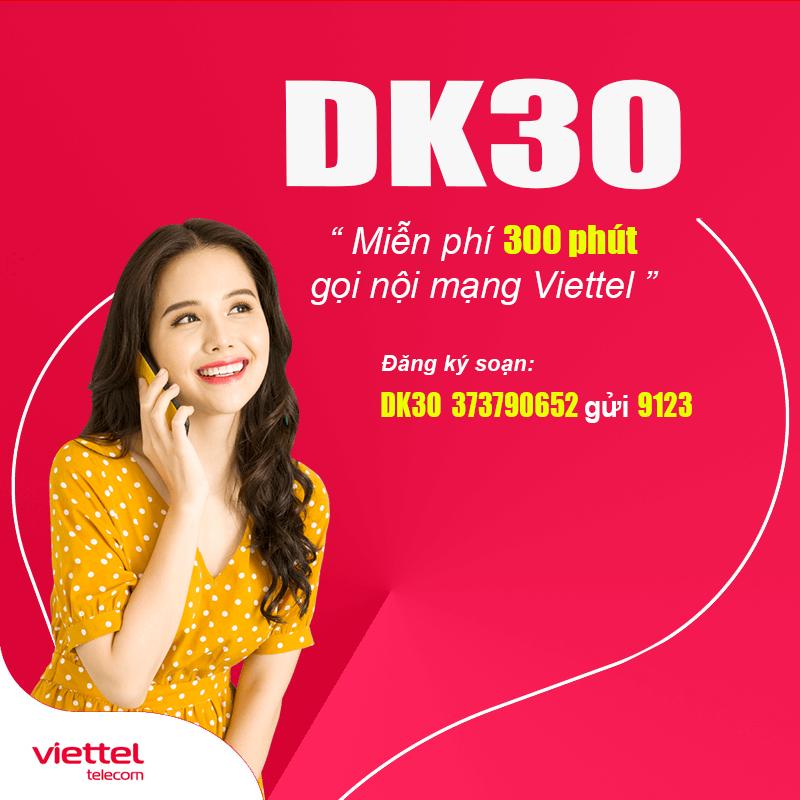 Cách Đăng Ký 300 Phút Gọi Nội Mạng Viettel Giá Rẻ Chỉ 30k
